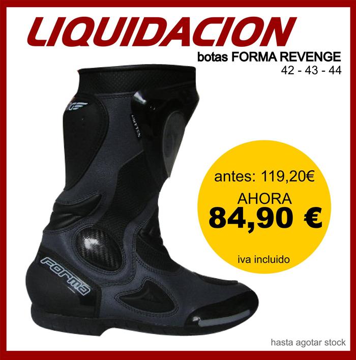 Outlet Botas Liquidacion Oferta Carretera Revenge Forma qXwB7wrd